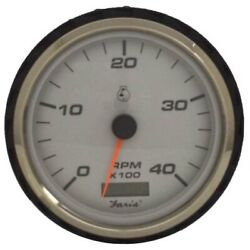 Faria Boat Oversized Tachometer Gauge Thc914a | Diesel 4 3/8 Inch