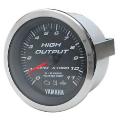 Beede Boat Tachometer Gauge 946827 | Yamaha 3 1/4 Inch Systems Check