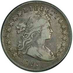1795 Draped Bust Silver Dollar PCGS VF 20 Centered Bust Small Eagle RARE