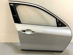 2018 - 2021 Bmw X2 Front Right Passenger Side Door Shell Panel Oem Silver=a83