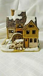 Lefton Colonial Christmas Village Sanderson's Mill 07927 Deed Included 1990 C2