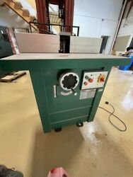 Grizzly G5912z - 5 Hp Professional Spindle Shaper With Felder Fence