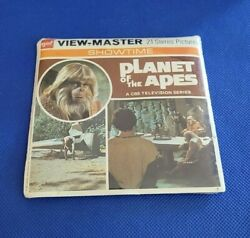 Sealed Gaf B507 The Planet Of The Apes Cbs Tv Show View-master 3 Reels Packet