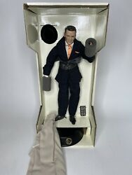 Frank Sinatra Franklin Mint Porcelain Portrait Doll With Musical Base Witchcraft
