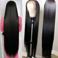 2021 Decorated 40-inch Long Straight Lace Wig