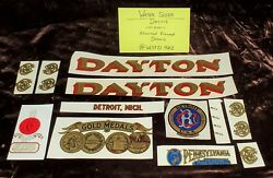 Lot Of Damaged Or Flawed Antique Scale And Coin Machine Decals Wsfd402
