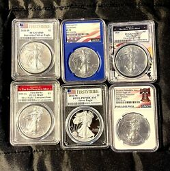 6-2020 1 Silver Dollarsall Minted At Different Mints