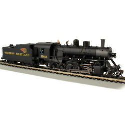Bachmann 85404 Western Maryland 1102 Locomotive Dcc And Wowsound 2-10-0 Ho Scale