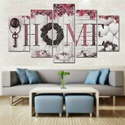 5Pcs Unframed Modern Wall Art Painting Print Canvas Picture Home Room Decor HOT