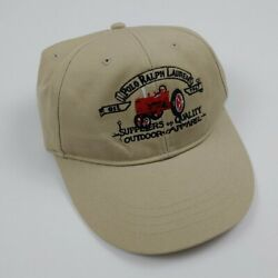 Vintage Polo Hat Tractor Sportsman Rare 90s Rl Usa Country 91