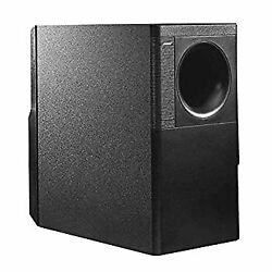 Secondhand Bose Subwoofer Small200w Wall Brackets With Connector Cover Black