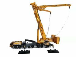 For Xcmg Xca1200 1200 Tons Mobile Crane Yellow Edition 1/50 Diecast Model Truck