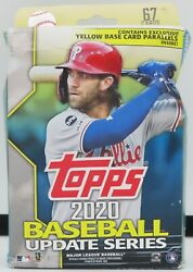2020 Topps Update Series Yellow Base Card Parallel Pkg009720