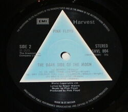 Pink Floyd - Dark Side Of The Moon 1973 Uk 1st A2 B2 Midnight And Solid Blue Ex Ex