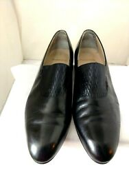 Stacy Adams Men's Dress Shoes 23475 Black Made In Spain Rare Style Size 11