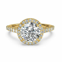 1.00 Ct Solitaire Diamond Rings Solid Natural 14k Yellow Gold Size 4 5 6