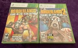 Brand New Borderlands / Borderlands 2 -- Game Of The Year Editionand039s Xbox 360
