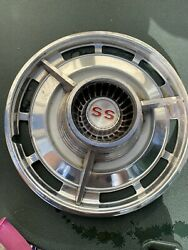 Set Of 2 1963-1964 Chevy Impala Ss Hubcaps