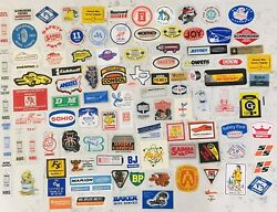 Vintage Coal Mining Stickers Lot Of 103 Unused. 1980's Free Shipping