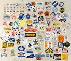 Vintage Coal Mining Stickers Lot Of 102 Unused. 1980and039s Free Shipping