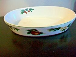 The Cades Cove Collection By Citation Large Oval Server Apple Blossom