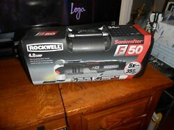 Rockwell 4.0 Amp 34 Pc Oscillating Multi-tool Kit Rk5141k Sonicrafter Sealed Fs