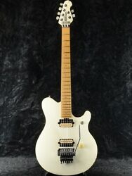 Music Man Axis Ex White Made In Japan 1998 Solid Alder Body, G1658