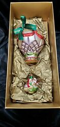 Waterford Lismore Holiday Heirlooms Limited Edition Large Balloon Ornament /hook