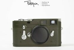 Leica M3 - Repaint In Olive Green Paint, Rangefinder Film Camera 94-96new