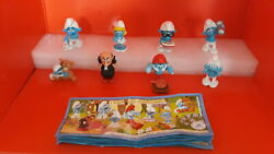 Kinder Surprise Series Complete The Smurfs 2011 N' 8 Gio2