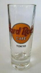 Hard Rock Cafe Tokyo Shot Glass Cordial 4 Cafe In Rare White