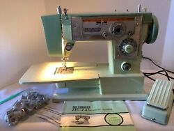 Dressmaker Zig-zag Sewing Machine Free-arm Model Fa2400 Tested And Cleaned.