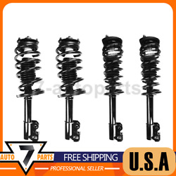 Suspension Strut And Coil Spring Assembly Front Rear Fcs Fit Saturn Sc 1991-1992