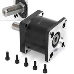 Nema23 Planetary Gearbox 51 Speed Reducer D8mm Shaft Fit For Stepper Motor 57mm