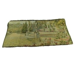 Lake Como 18th Century Italian Reproduction Tapestry 38quot; x 19quot; Made in Italy