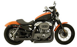 Supertrapp Mean Mothers Full Exhaust Stag Black Hd Fxs / Flst 84-11
