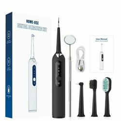 Electric Sonic Dental Scaler Portable Tooth Cleaner Ultrasound Oral Calculus Kit
