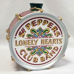 Vintage 1998 Beatles Sgt Pepper's Lonely Hearts Club Band Ceramic Cookie Jar D