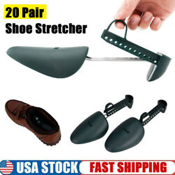 20 Pairs Adjustable Spring Keepers Support Stretcher Shoe Shapers Men Shoes Tree