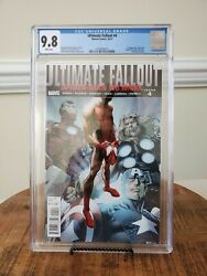 Ultimate Fallout 4 1st Print Cgc 9.8 1st Appearance Of Miles Morales Spider-man