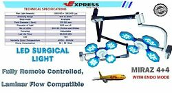Twin Arm Examination And Surgical Lights For Different Surgical Use Ot Room Lights