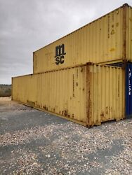 40ft X 8ft Used Shipping Containers