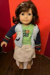 American Girl Doll Goty Lindsey Meet Outfit + Book / No Doll