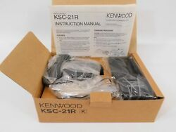 Kenwood Ksc-21r Rapid Charger For Commercial Two-way Radio New In Box