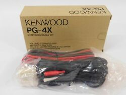 Kenwood Pg-4x Extension Cable Kit For Commercial Two-way Radio New In Box