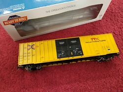 Athearn Rtr Ttx 60' Gunderson Boxcar New Logo Ath 75053 662797 Kd's And More