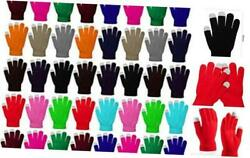60 Pairs Touchscreen Gloves Winter Stretch Knitted Texting Gloves For Men