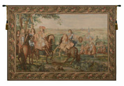 La Prise De Lille I French Tapestry - Wall Art Hanging Decor New - 78x118 Inch
