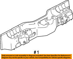 Ford Oem 10-13 Transit Connect-rear Body Panel 9t1z17808a