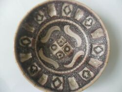 Guido Gambone Charger/dish 9.5in Diam 24cm 3in Deep 8cm Approx Perfect